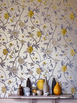 zoffany tapety   tapety_zoffany_poznan_Flowering_Tree_Yellow87837 poznan